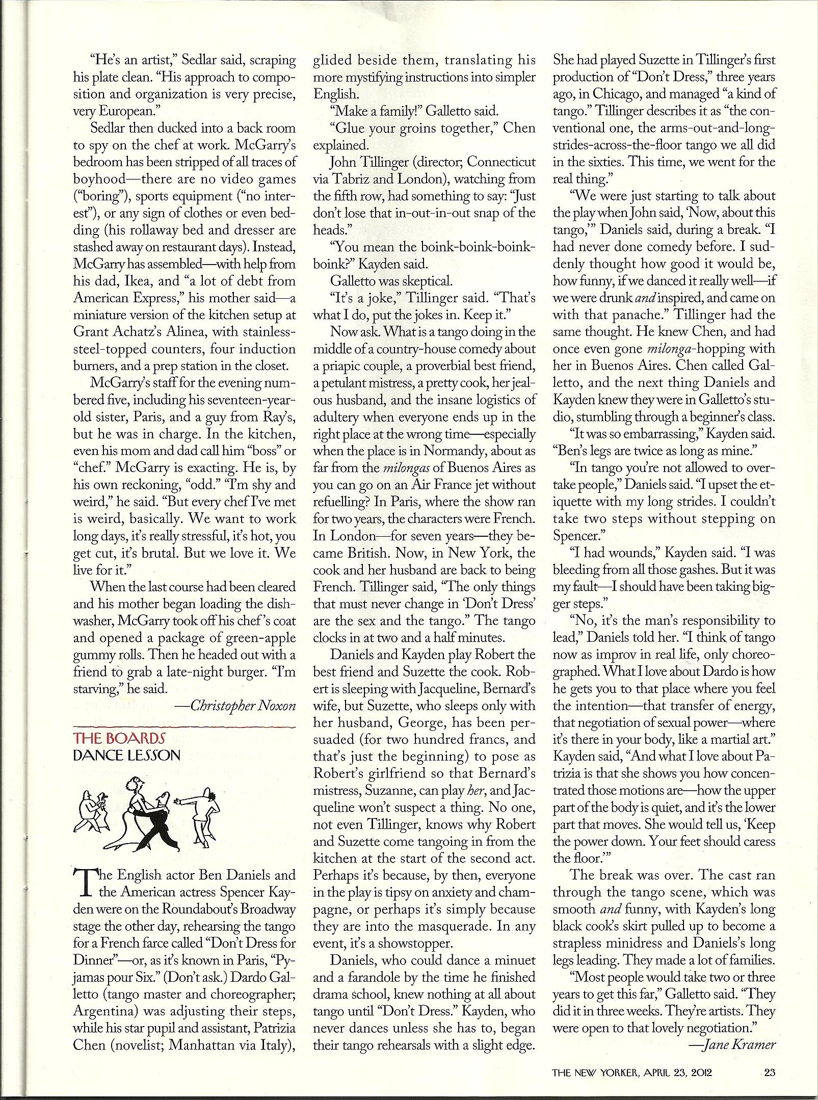 The New Yorker April 2012