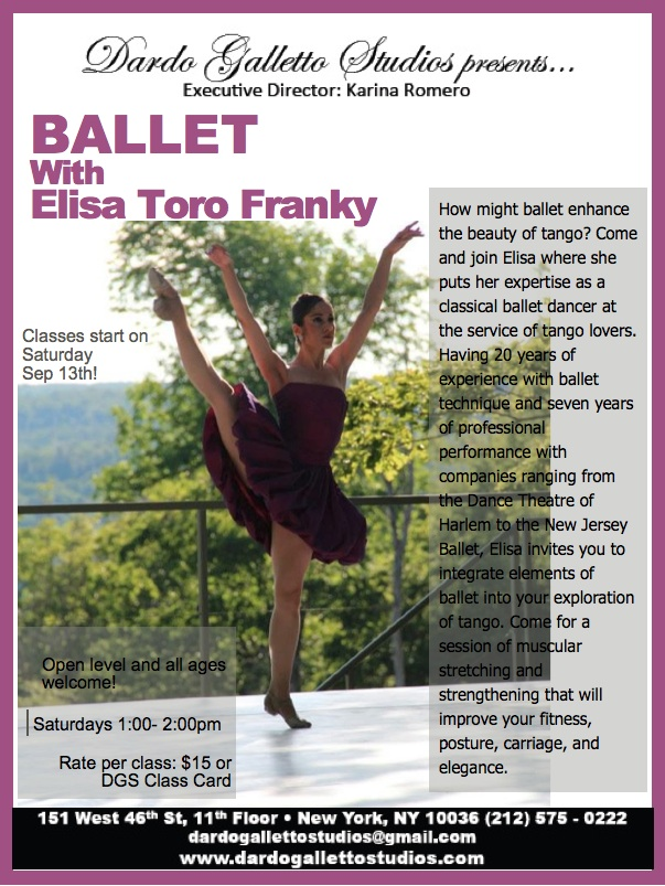 Elisa Ballet poster